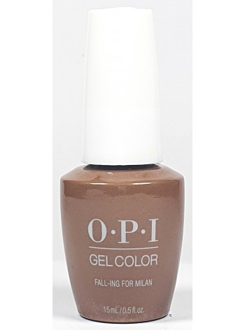 Fall-ing for Milan * OPI Gelcolor