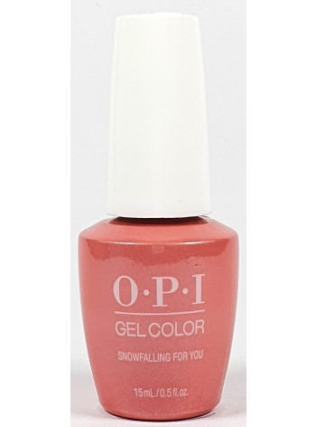 Snowfalling for You * OPI Gelcolor