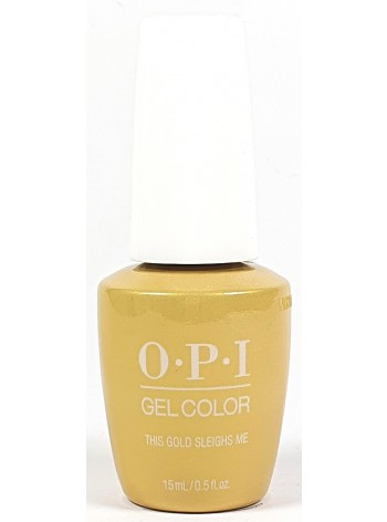 This Gold Sleighs Me * OPI Gelcolor