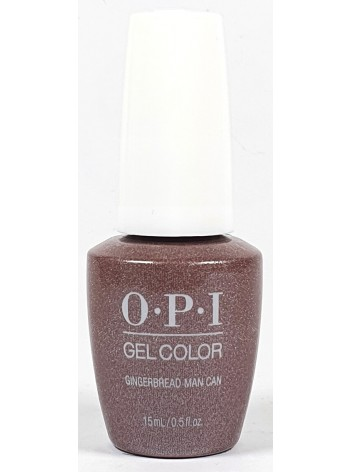 Gingerbread Man Can * OPI Gelcolor