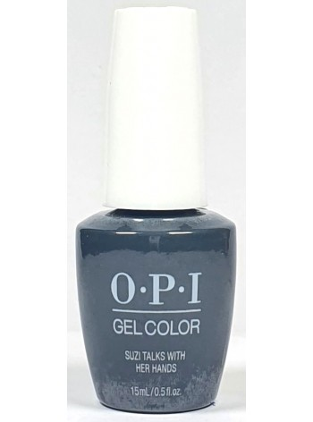 Suzi Talks with Her Hands * OPI Gelcolor