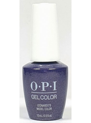 Leonardo's Model Color * OPI Gelcolor