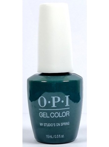 My Studio's on Spring * OPI Gelcolor