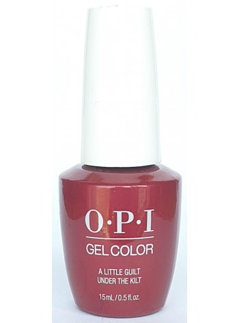 A Little Guilt Under The Kilt * OPI Gelcolor