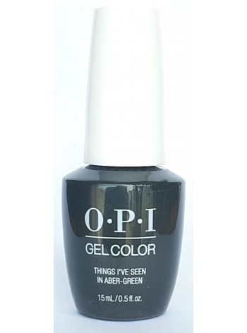 Things I've Seen In Aber-green * OPI Gelcolor