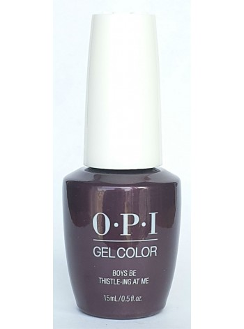 Boys Be Thistle-ing At Me * OPI Gelcolor