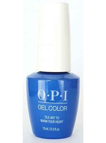 Tile Art to Warm Your Heart * OPI Gelcolor