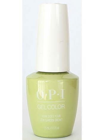 How Does Your Zen Garden Grow? * OPI Gelcolor