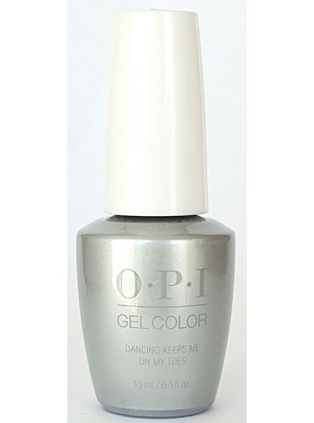 Dancing Keeps Me On My Toes * OPI Gelcolor