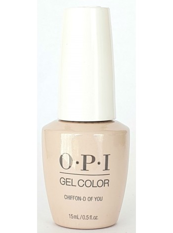 Chiffon-D Of You * OPI Gelcolor
