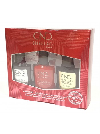 CND 40th Anniversary Ruby Kit
