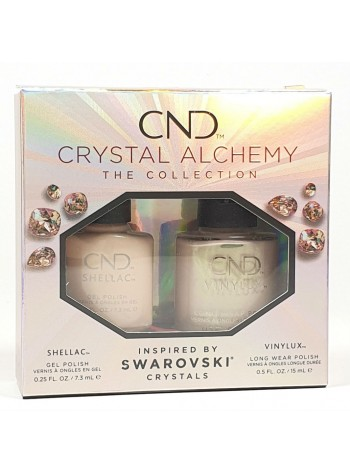 CND Crystal Alchemy Lovely Quartz kit