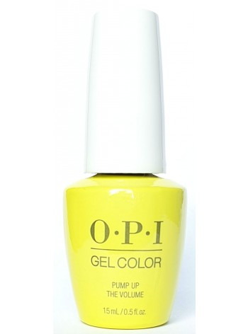 Pump Up The Volume * OPI Gelcolor