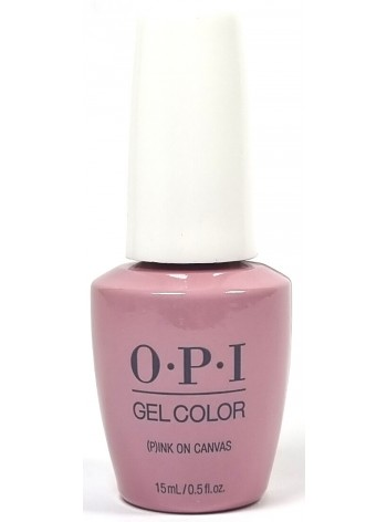 (P)Ink on Canvas * OPI Gelcolor