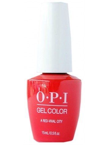 A Red-vival City * OPI Gelcolor