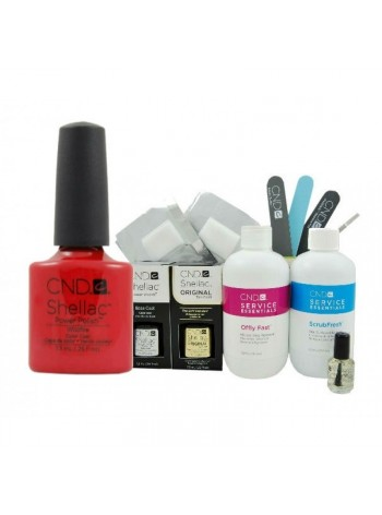 CND Shellac WildFire Starter Kit