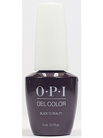 Black To Reality * OPI Gelcolor