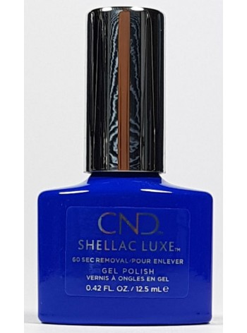 Blue Eyeshadow * CND Shellac LUXE
