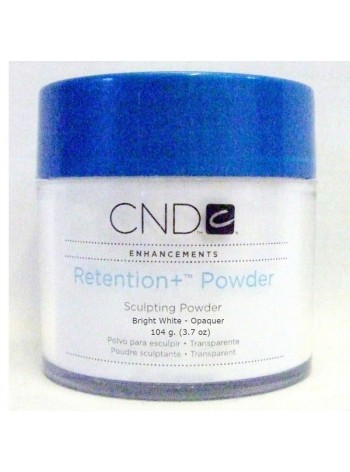 Bright White - Opaque * CND Retention Sculpting Powders-104 g.