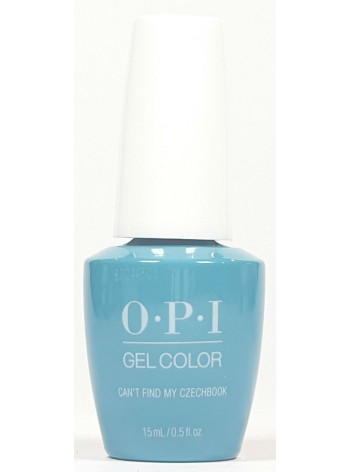 Can't Find My Czechbook * OPI Gelcolor