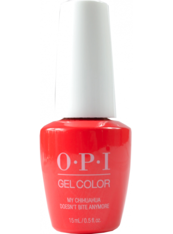 My Chihuahua Doesn't Bite Anymore * OPI Gelcolor