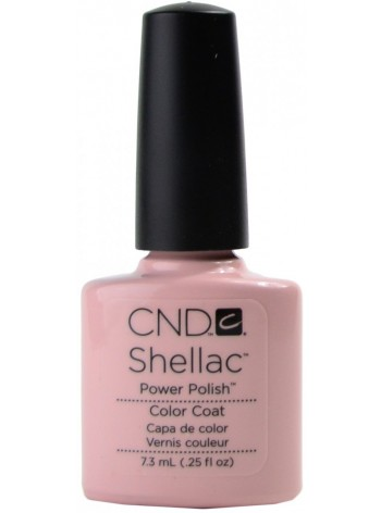 Clearly Pink * CND Shellac