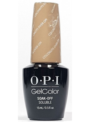Coconuts Over OPI * OPI Gelcolor
