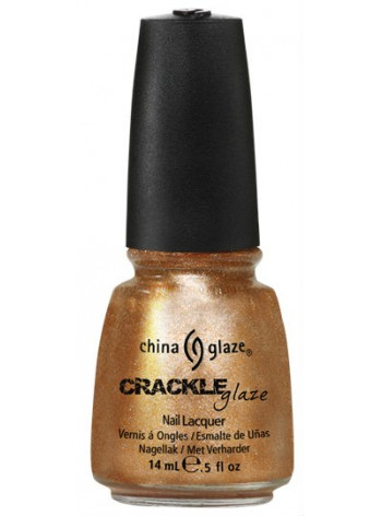 Cracked Medallion * China Glaze Crackle