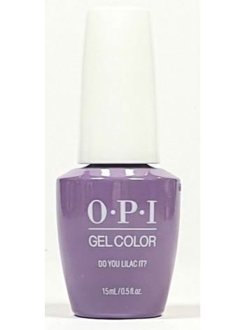 Do You Lilac It? * OPI Gelcolor