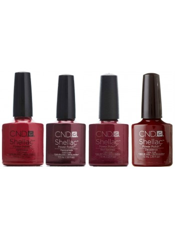 CND Shellac Rouge Red Kit