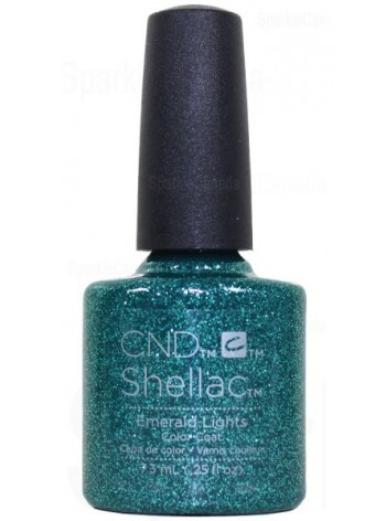Emerald Lights * CND Shellac