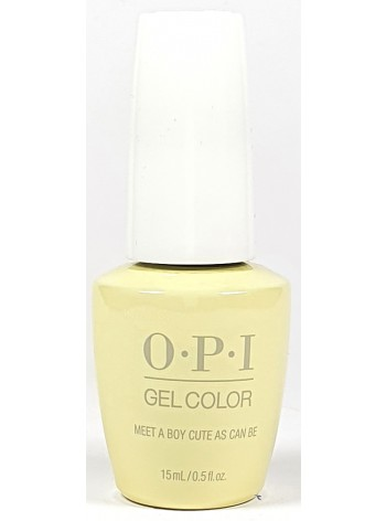 Meet A Boy Cute As Can Be * OPI Gelcolor