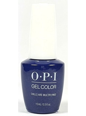 Chills Are Multiplying! * OPI Gelcolor
