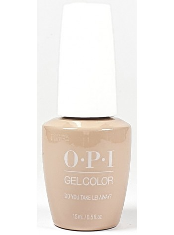 Do You Take Lei Away? * OPI Gelcolor