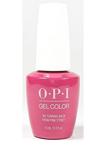 No Turning Back From Pink Street * OPI Gelcolor