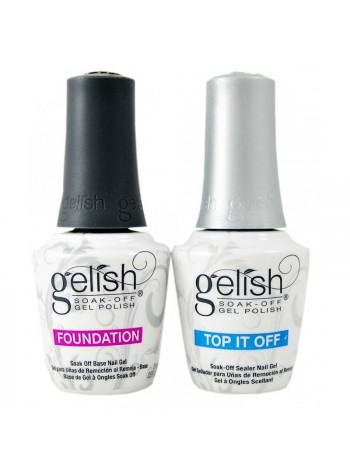 Harmony Gelish Foundation + Top It Off Kit