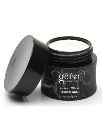 White Builder * Gelish Hard Gel