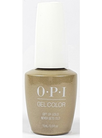 Gift Of Gold Never Gets Old * OPI Gelcolor