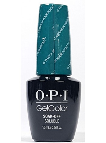 Is That A Spear In Your Pocket? * OPI Gelcolor