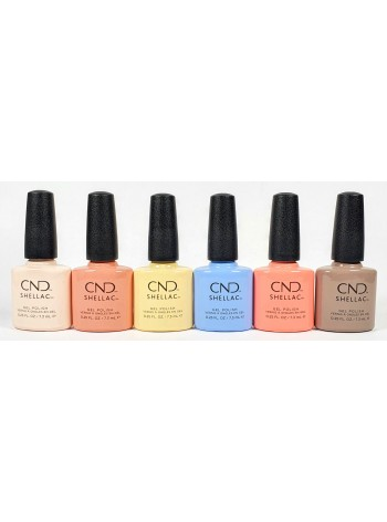CND Shellac Colors of You Collection