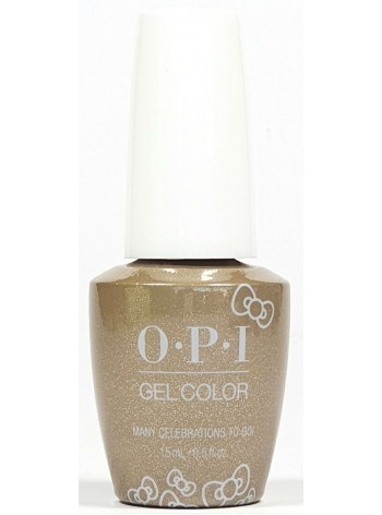 Many Celebrations To Go! * OPI Gelcolor