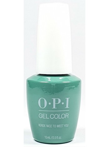 Verde Nice to Meet You * OPI Gelcolor