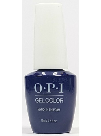 March In Uniform * OPI Gelcolor