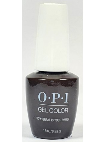 How Great is Your Dane? * OPI Gelcolor