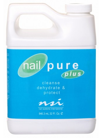 Cleanser & dehydrator * Nailpure Plus NSI