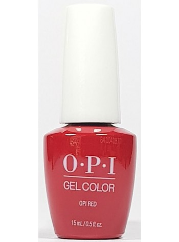 OPI Red * OPI GelColor