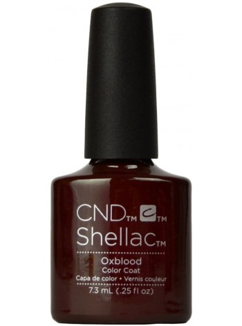 Oxblood * CND Shellac