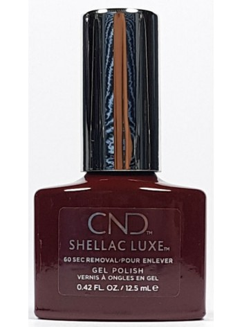 Oxblood * CND Shellac LUXE