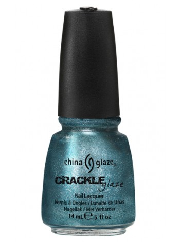 Oxidized Aqua * China Glaze Crackle