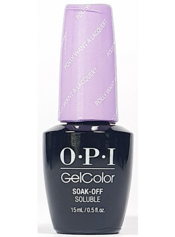 Polly Want A Lacquer * OPI Gelcolor